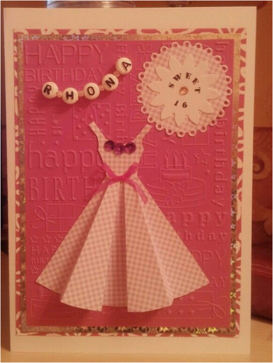 sweet 16th birthday card birthday cards pinterest