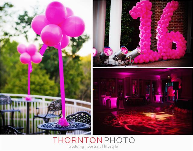 Sweet 16 Birthday Decoration Ideas Ashlee S