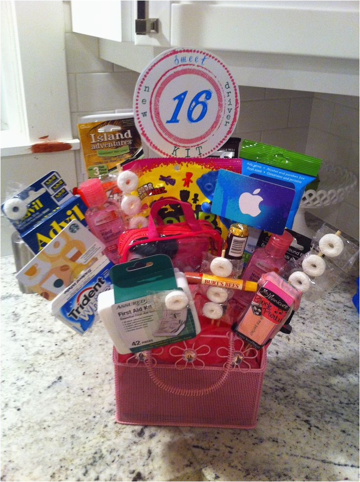Sweet 16 Birthday Gift Ideas For Her 174 Best Images About Basket On Pinterest
