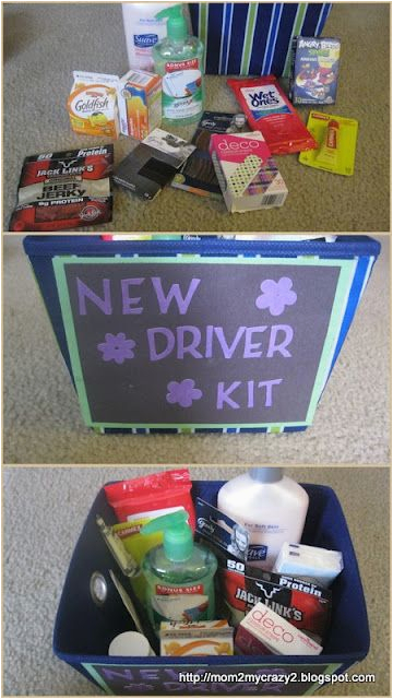 Sweet 16 Birthday Gifts For Her Gift New Driver Kit When My Sister