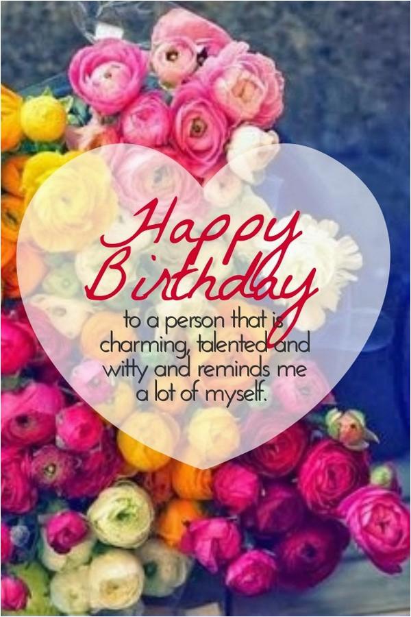 unique happy birthday wishes to you