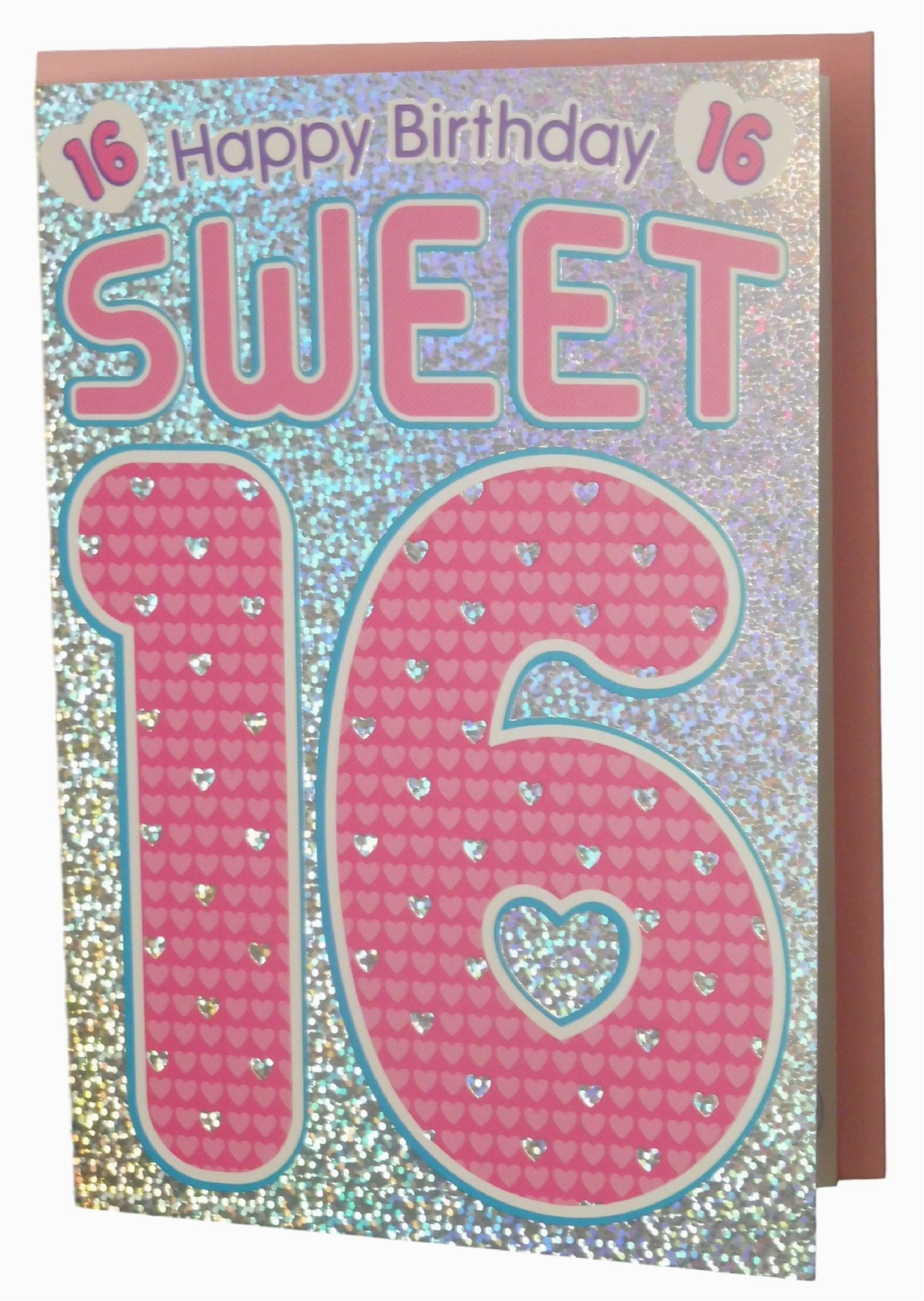 age sweet 16 happy 16th birthday greetings card for her 305 p