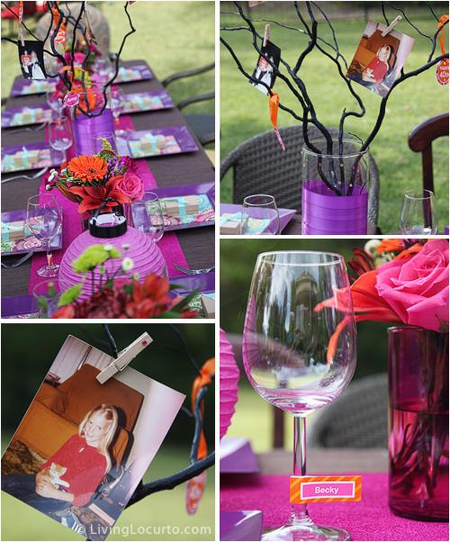 50milestonebirthdayideasfor30th40th50th60thandbeyond 50th Birthday Party Table Decorations Photograph 50