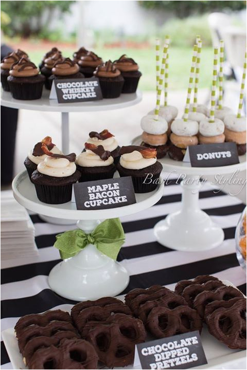 Table Decorations For Male Birthday 50th Party Ideas Men