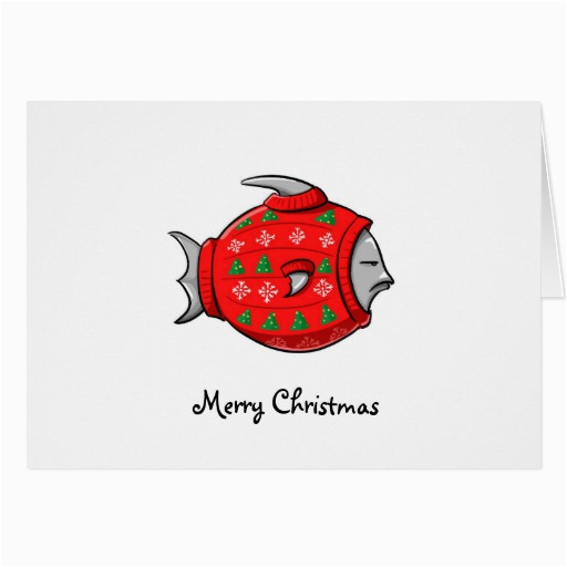 cape cod tacky christmas sweater greeting cards 137539841387233876