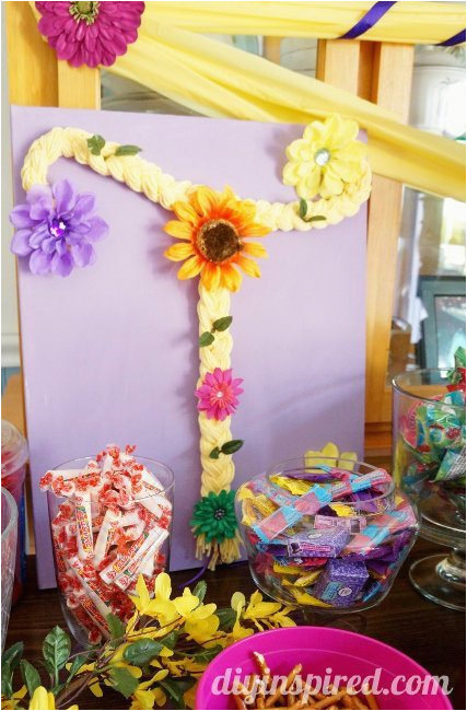 rapunzel birthday party ideas