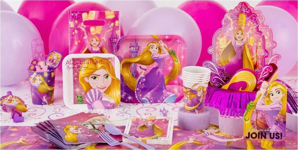 rapunzel party supplies