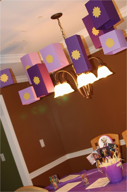 rapunzel tangled birthday party lanterns