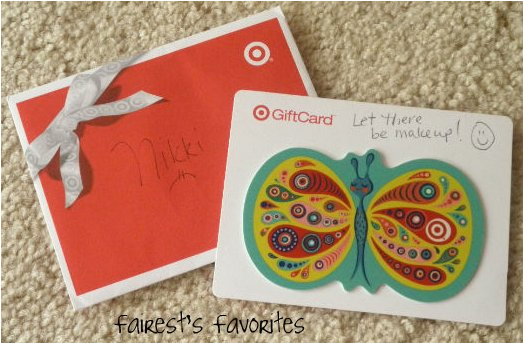 Target Birthday Gift Card Fairest 39 S Favorites Makeup Haul