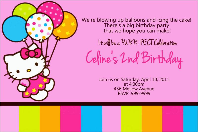 hello kitty birthday invitations target