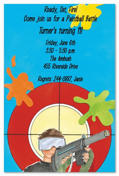 target photo invitations template