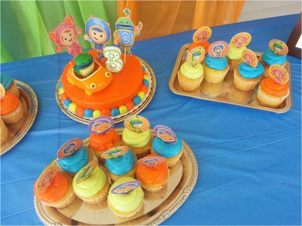 Team Umizoomi Birthday Decorations Party Ideas Photo 1 Of 6 Catch