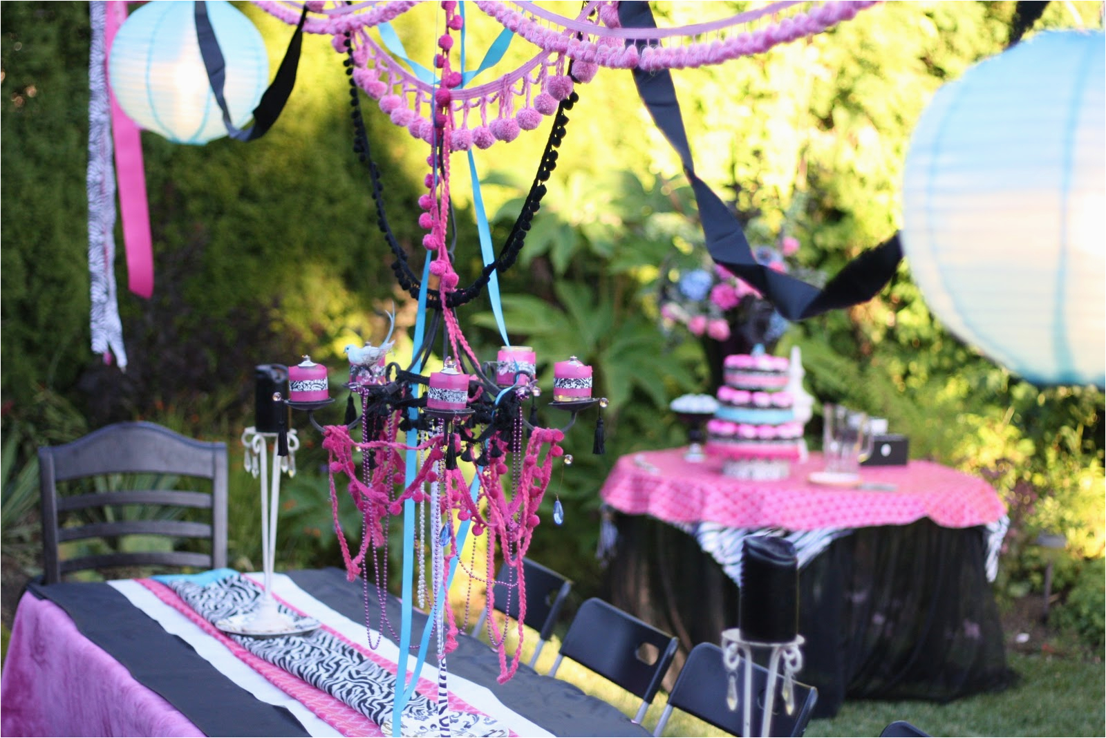 designed by dad teen girls birthday party