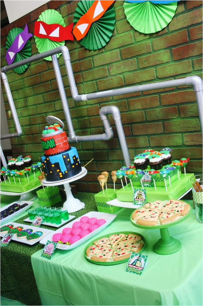 Teenage Mutant Ninja Turtles Birthday Decorations Tmnt 25 Jpg