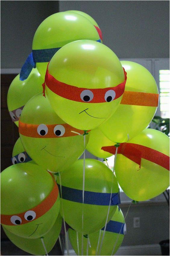 Teenage Mutant Ninja Turtles Birthday Party Decorations The Best Ideas Home