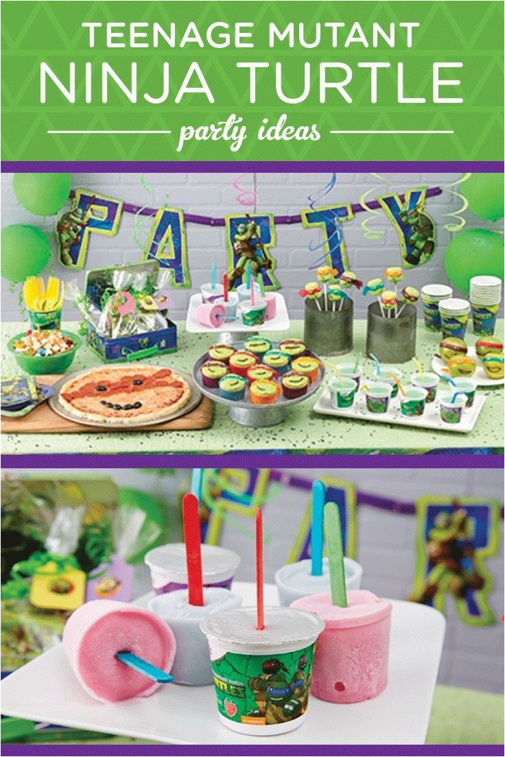 Teenage Mutant Ninja Turtles Birthday Party Decorations Tmnt Quotes For Theme Quotesgram