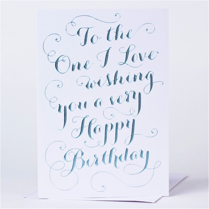 birthday card fancy text
