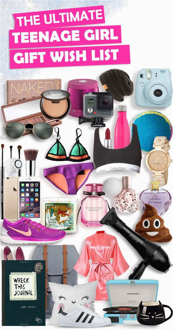 christmas gifts for teenage girls list new for 2018