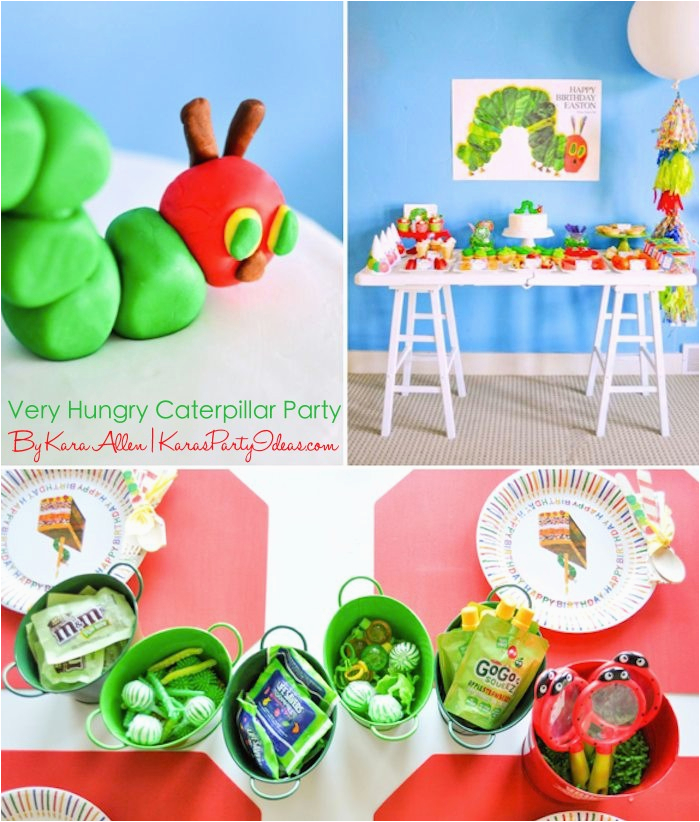 very hungry caterpillar 3rd birthday party