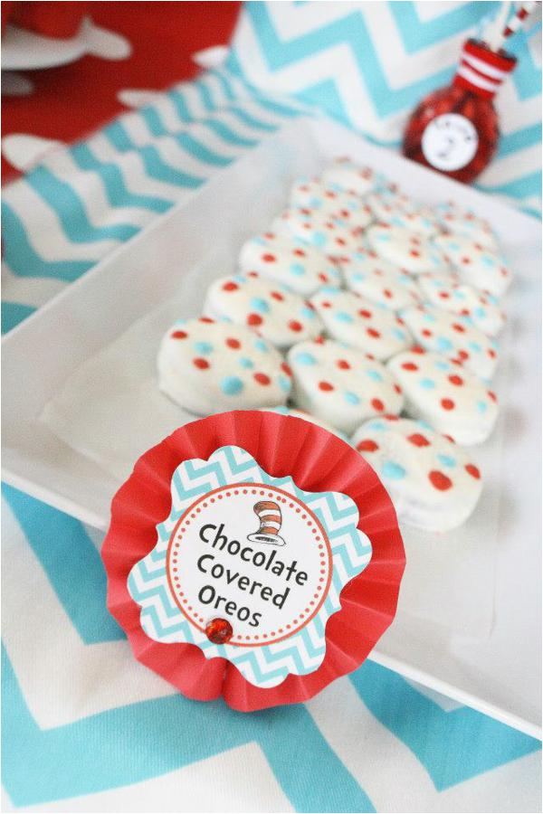 Thing 1 And 2 Birthday Decorations Kara 39 S Party Ideas One Two