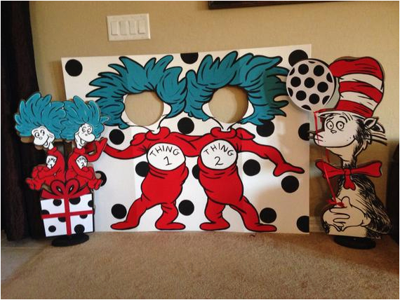Thing 1 And 2 Birthday Decorations Let 39 S Be