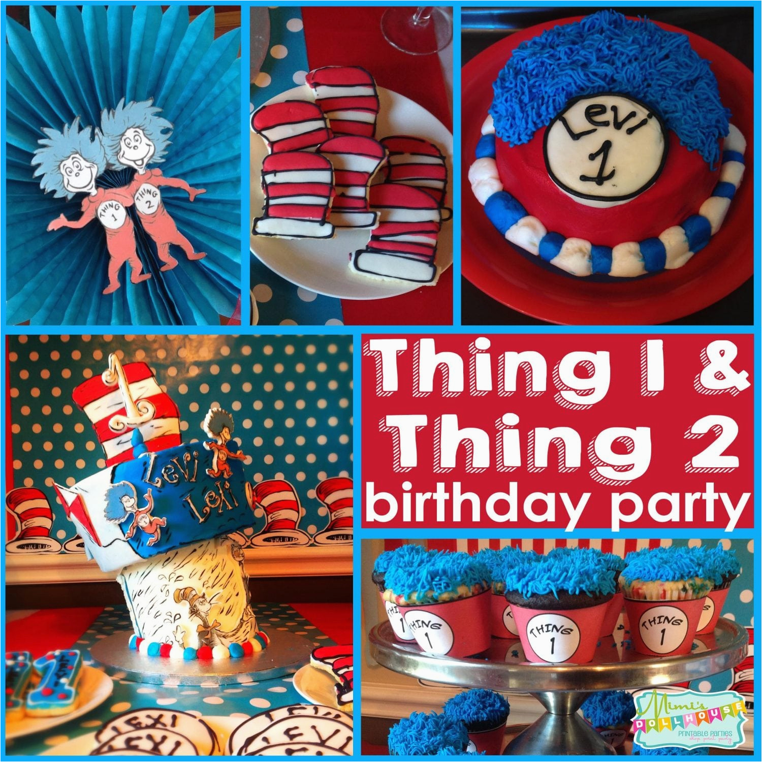 Thing 1 And 2 Party Lexi Levi