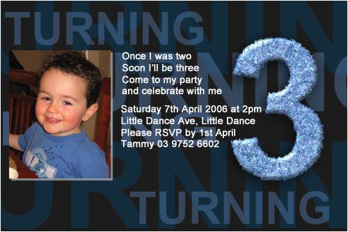 Third Birthday Invitation Wording Boys 3rd Birthday Party Invitations Boys 3rd Birthday