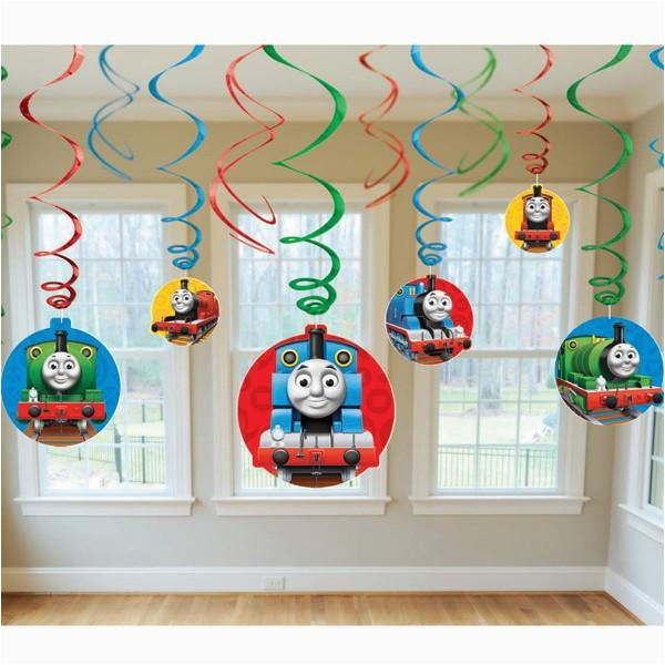 thomas friends birthday party supplies swirl decorations