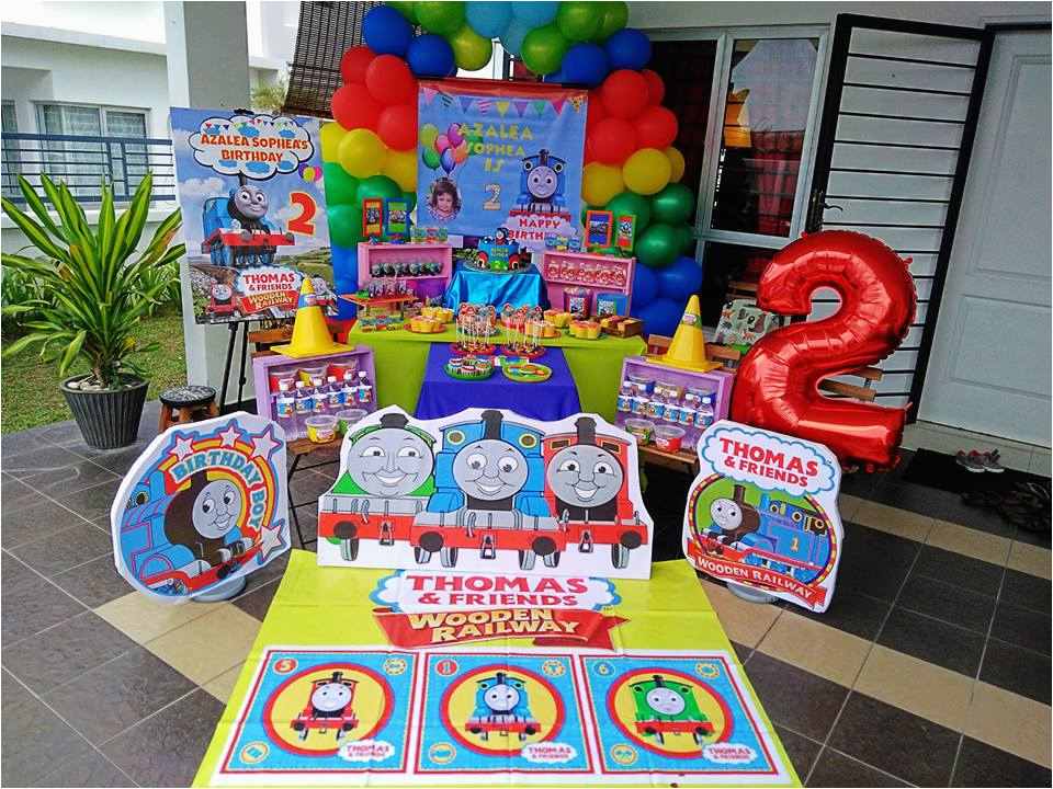 Thomas and Friends Birthday Decorations Wondermama Party Kl Wondermama Candy Buffet Thomas