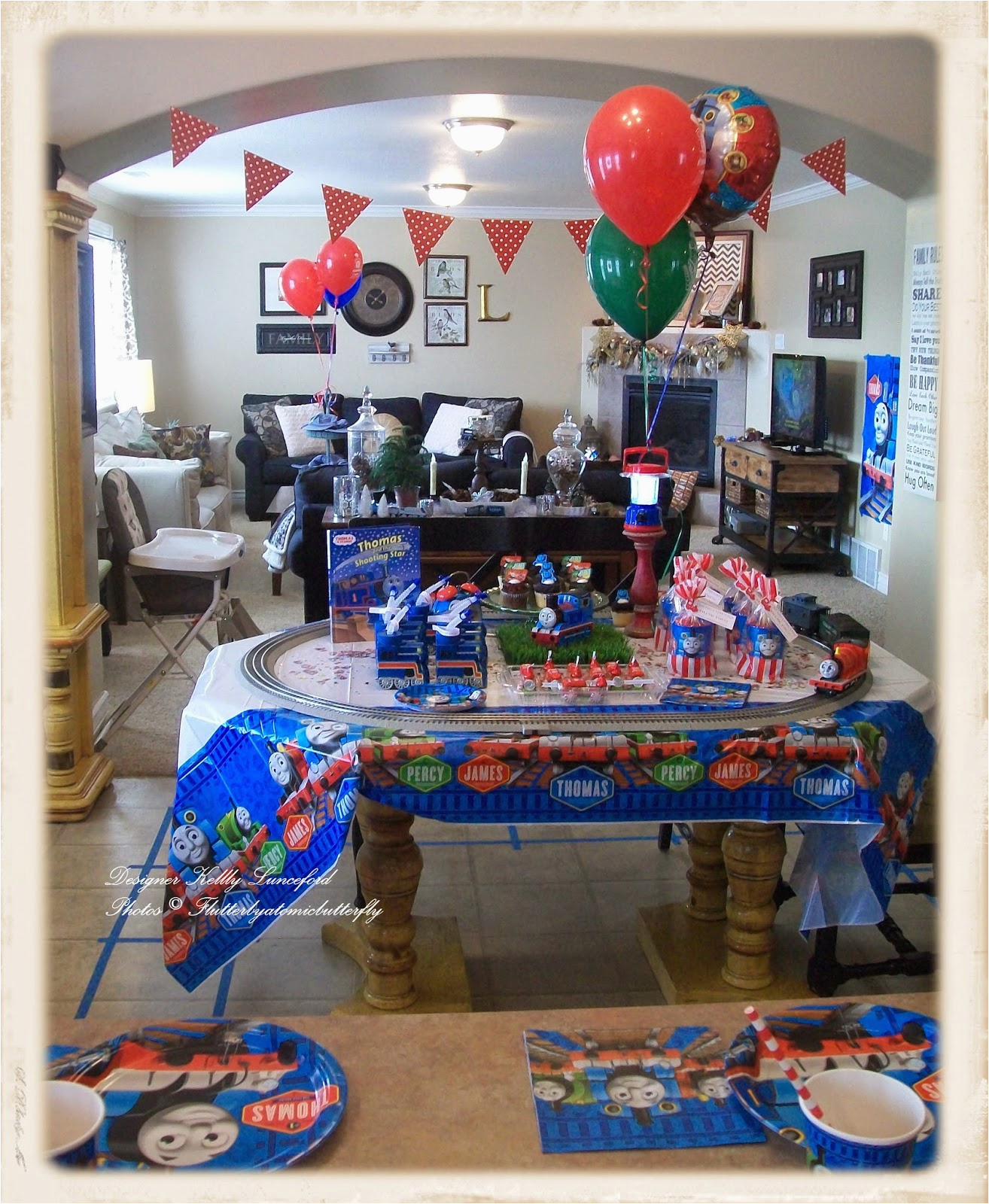 thomas tank engine 5th birthday party