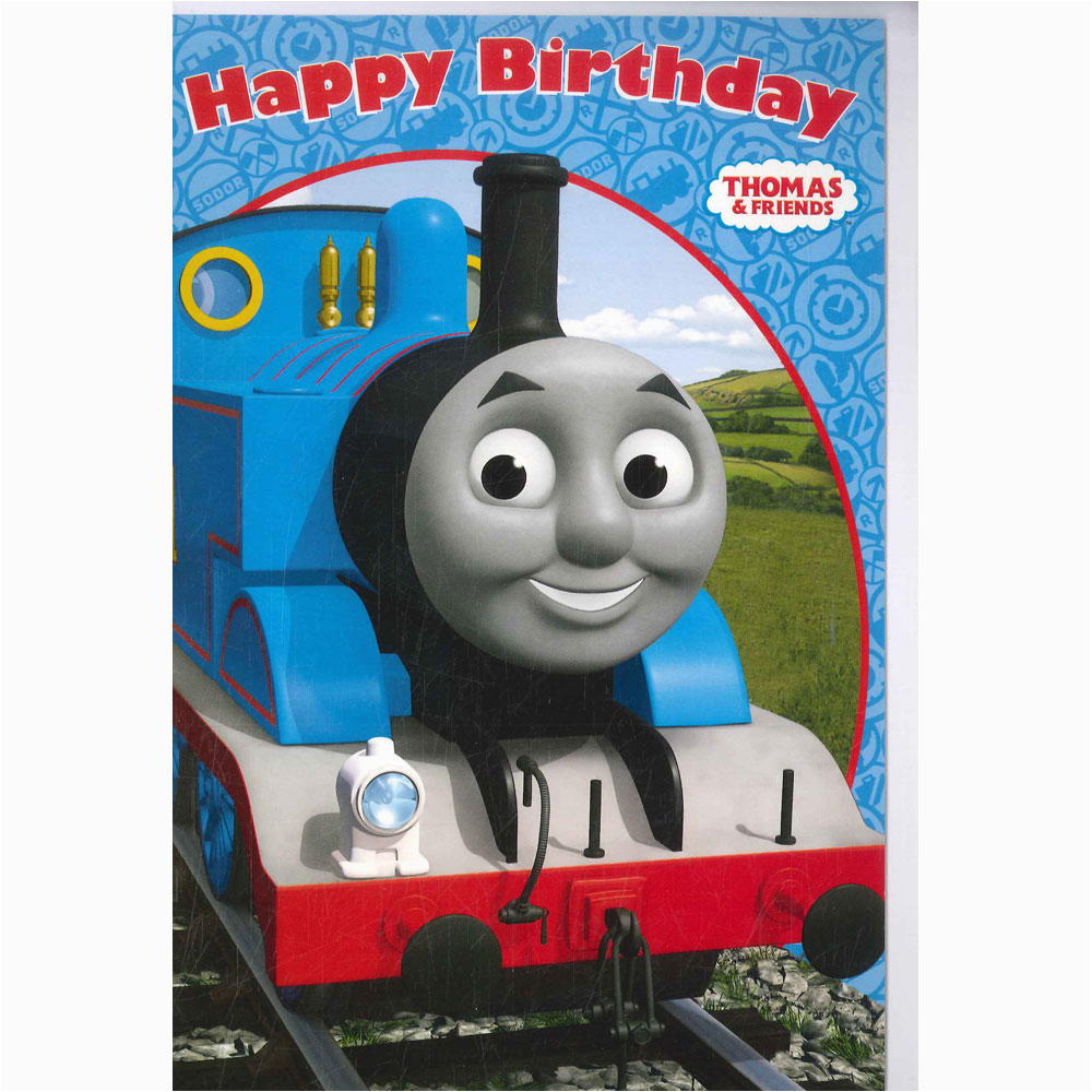 thomas and friends birthday card birthday cards at the works