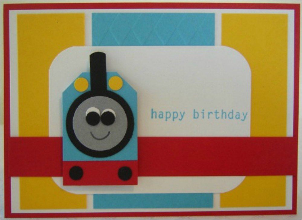 thomas the train birthday card birthday by 2cheekychicks