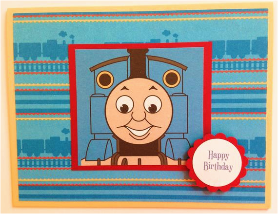 thomas the train birthday card train birthday card boys