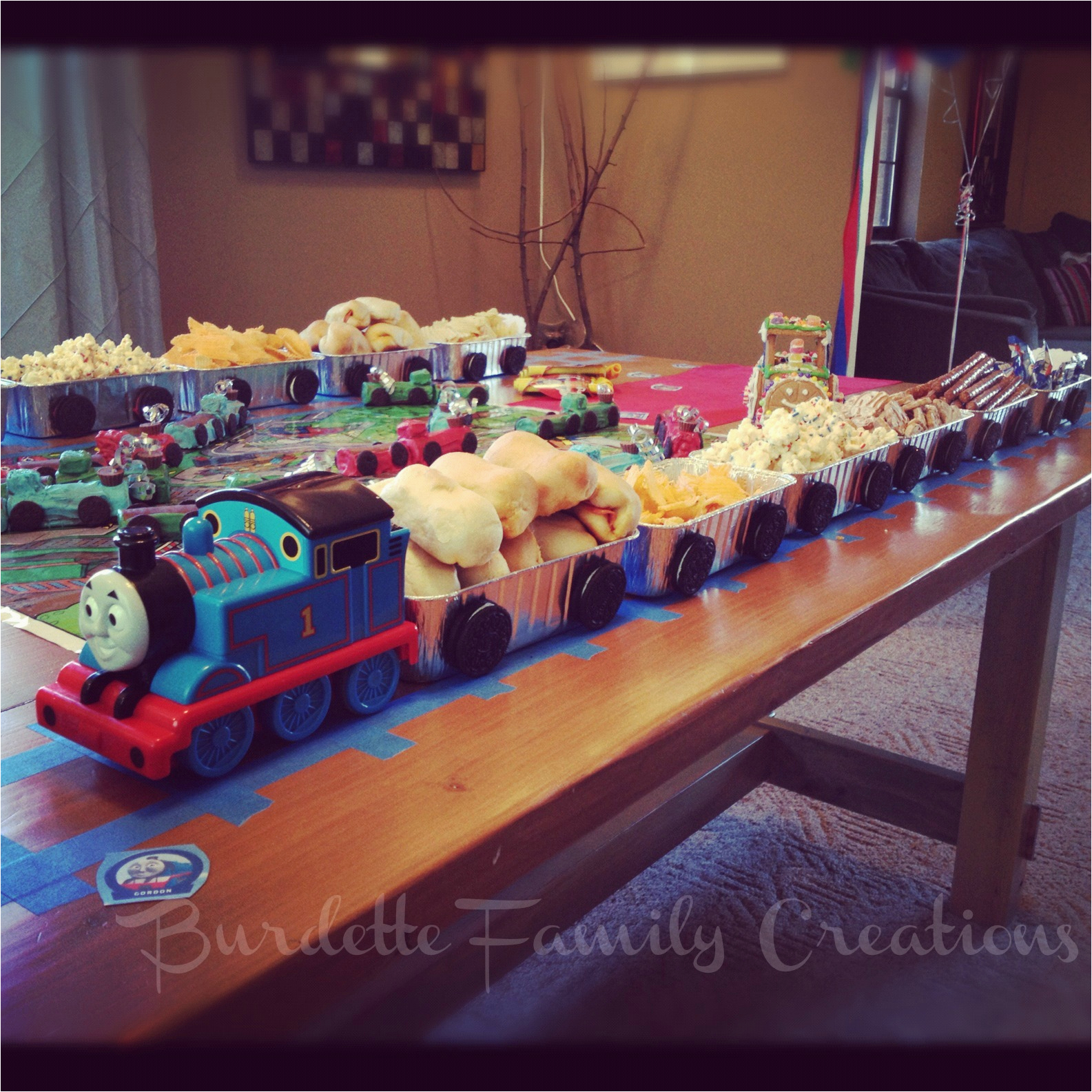 thomas train birthday party