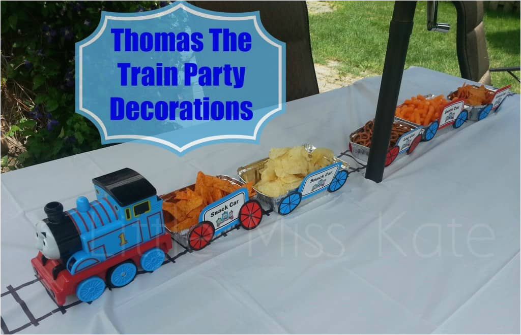 thomas the train party decorations 2
