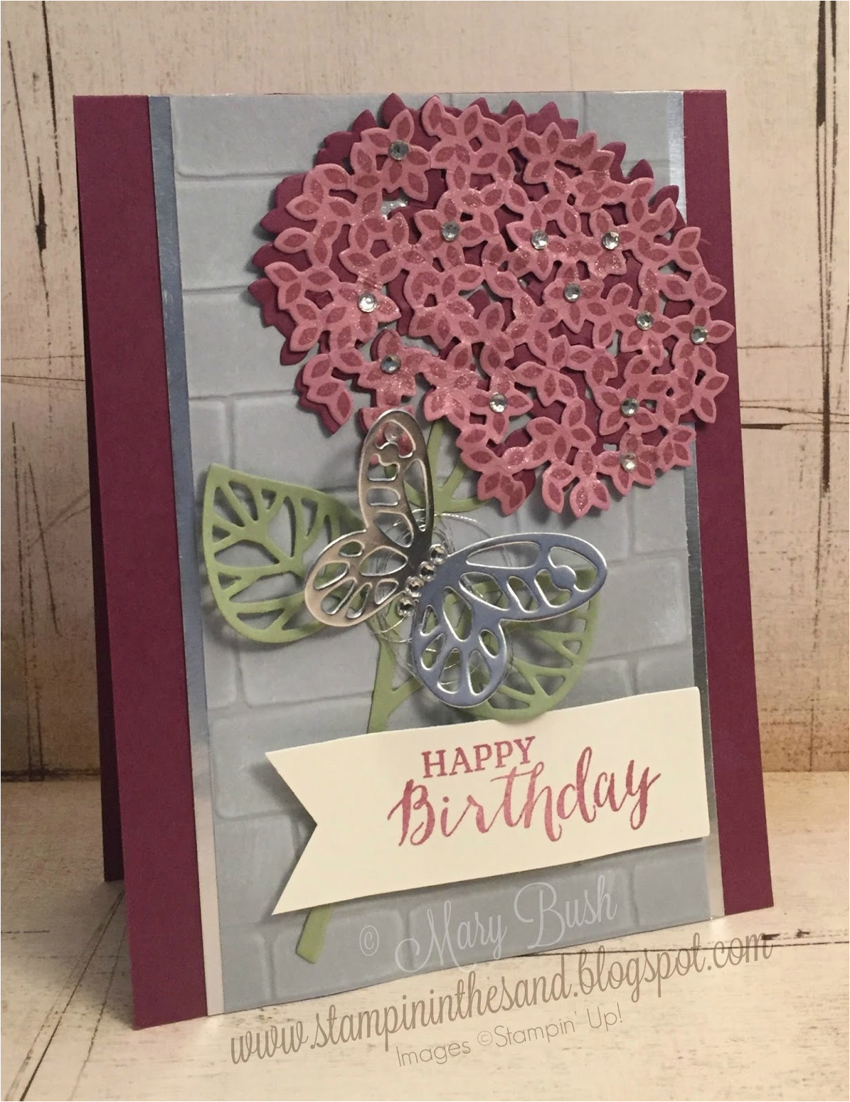 Thoughtful Birthday Cards Stampin 39 In the Sand Card thoughtful Branches Birthday