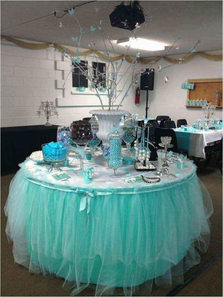 Tiffany Blue Birthday Party Decorations Co Ideas Photo 3 Of 23 Catch