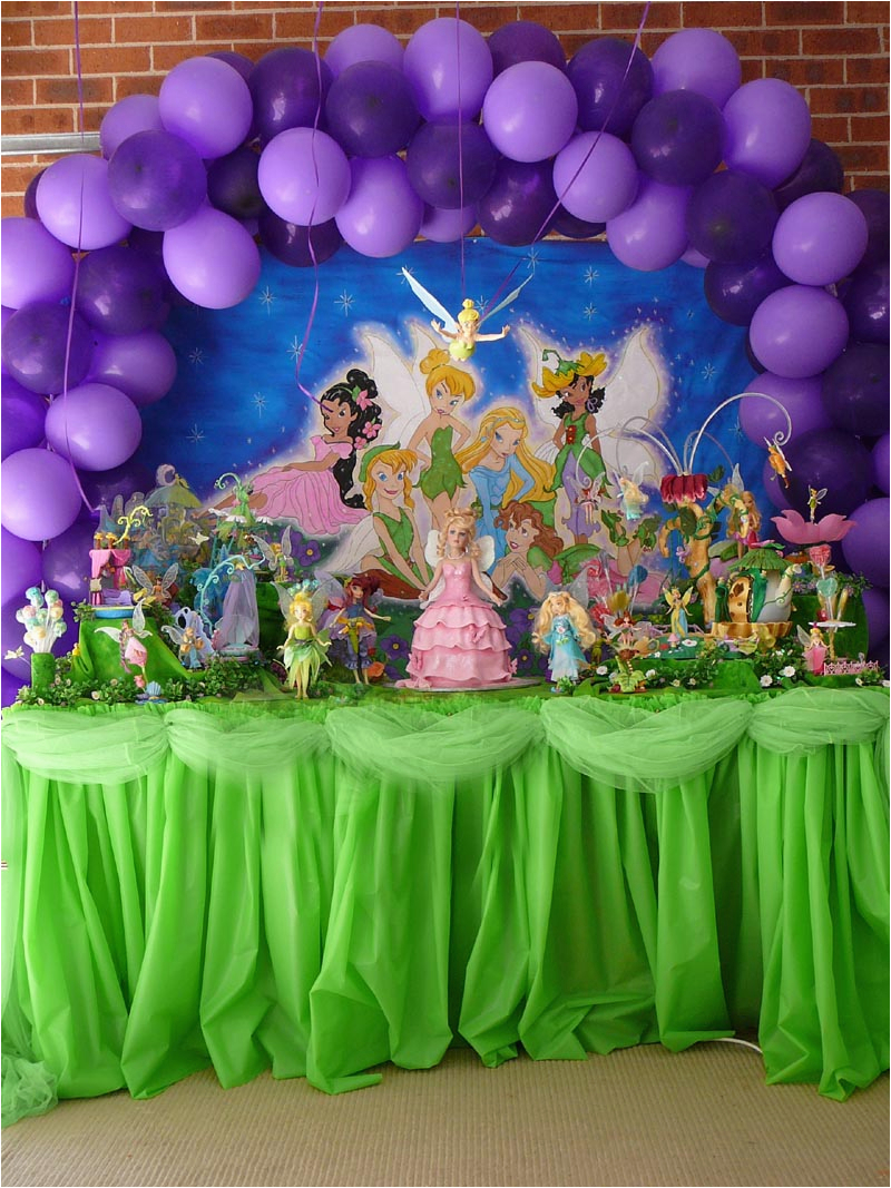 tinkerbell balloons decorations