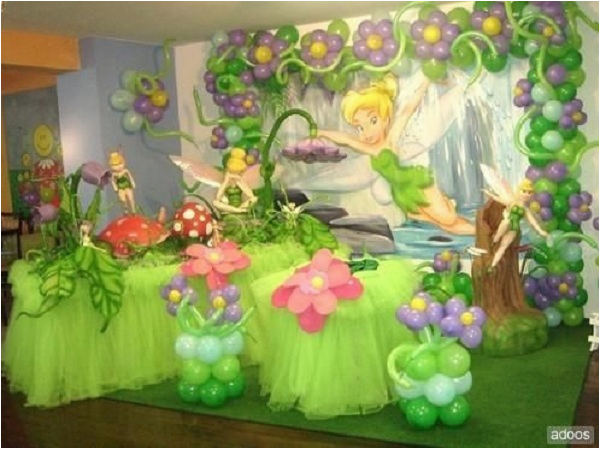Tinkerbell Birthday Decoration Ideas Tinkerbell Fairy Birthday Party theme Ideas Pink Lover