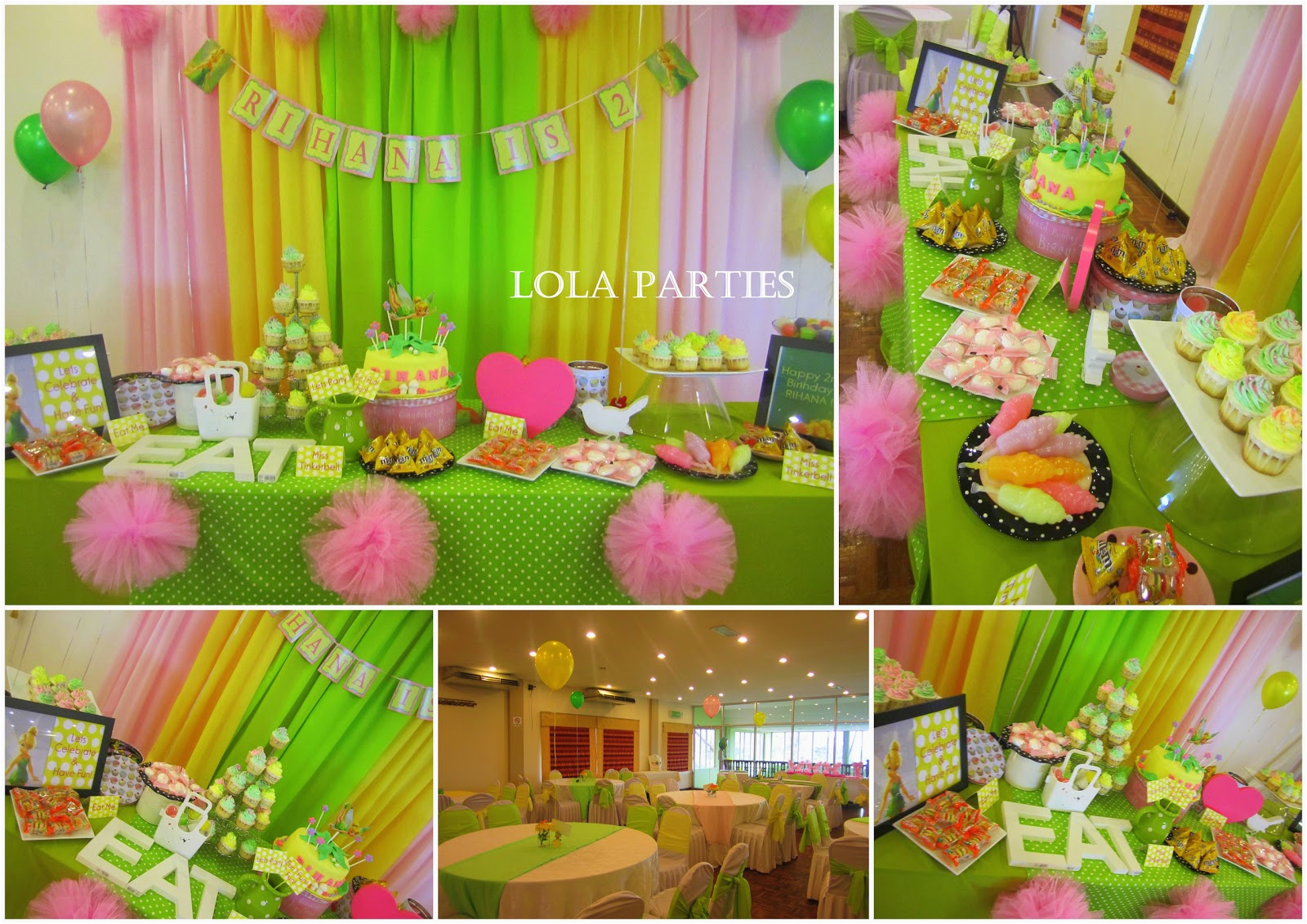 Tinkerbell Decorations For Birthday