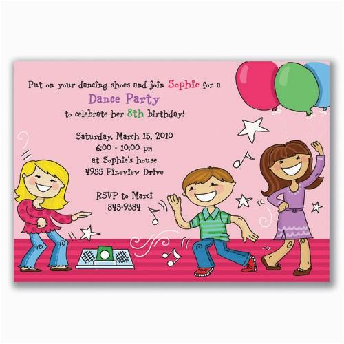 Toddler Birthday Invitation Wording Kids Birthday Party Invitation
