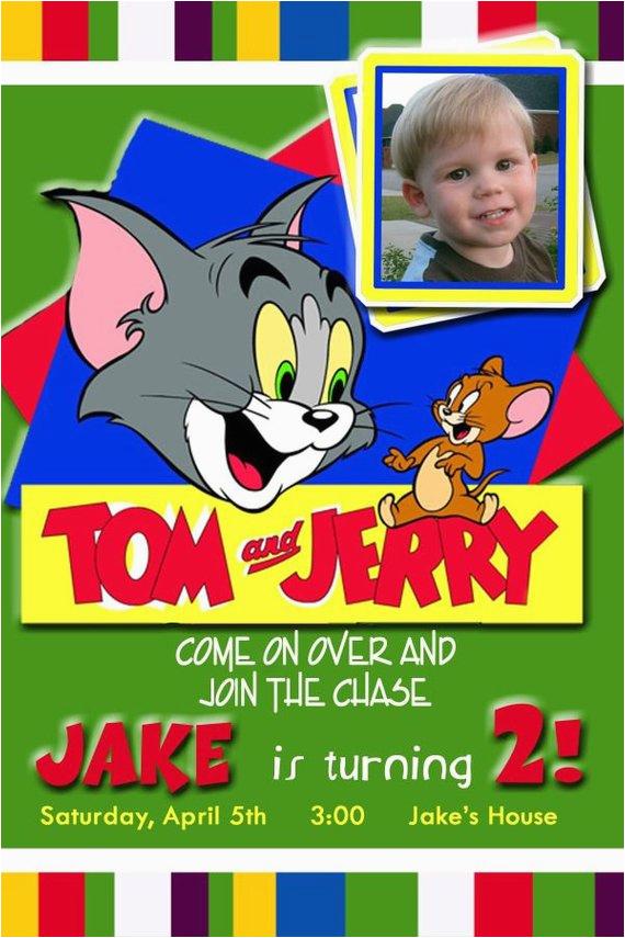 tom and jerry invitation 20 tom and jerry by dazzelprintz