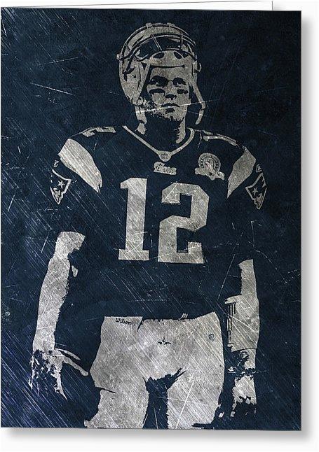 Tom Brady Birthday Card New England Patriots Greeting Cards Fine Art America