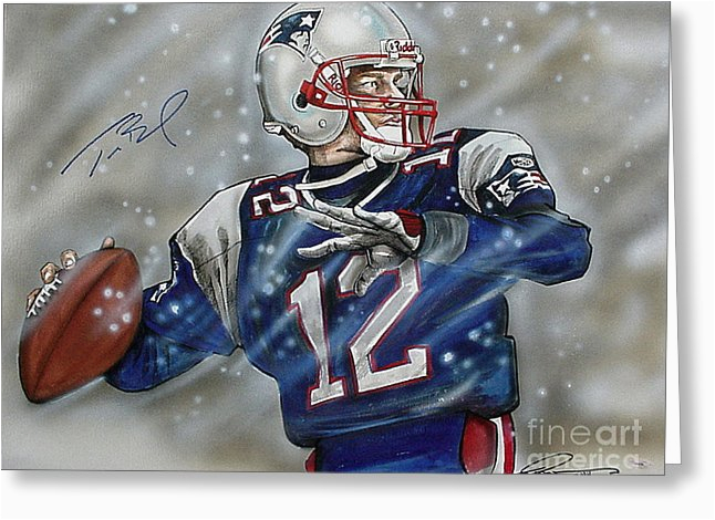 new england patriots greeting cards for sale