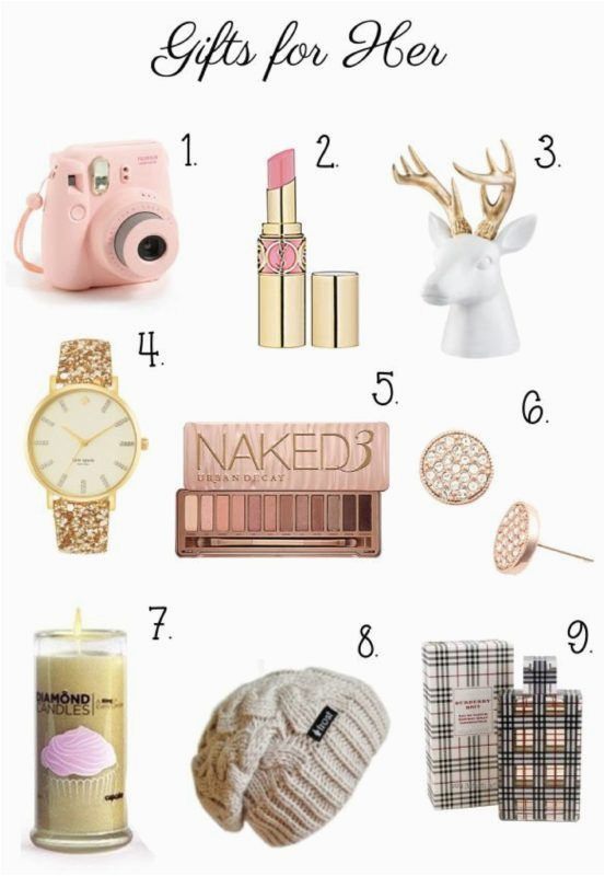 Top 5 Birthday Gifts For Her Best 25 Ideas On Pinterest