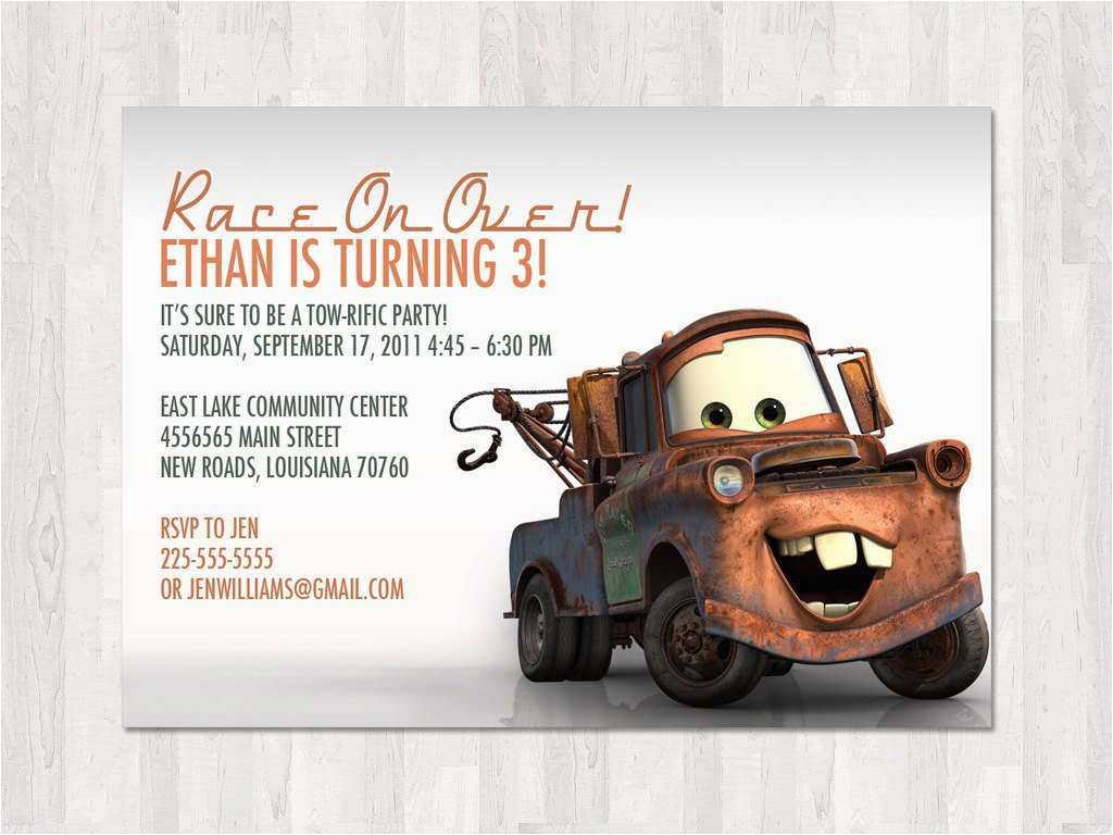 party city mater invitation
