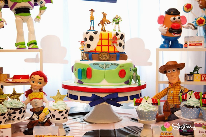 toy story themed birthday party