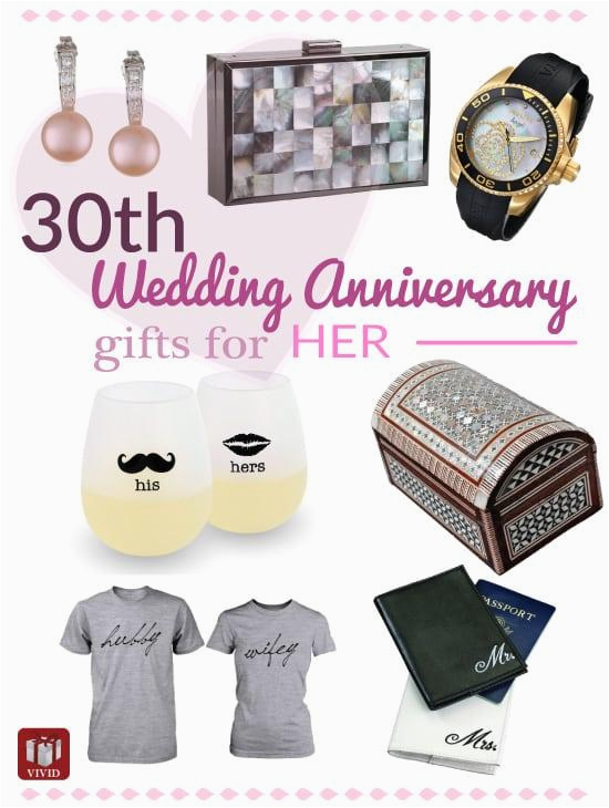 Traditional 30th Birthday Gifts for Her top 10 Pearl Anniversary Gifts for Her Vivid 39 S  sc 1 st  BirthdayBuzz & Traditional 30th Birthday Gifts for Her | BirthdayBuzz
