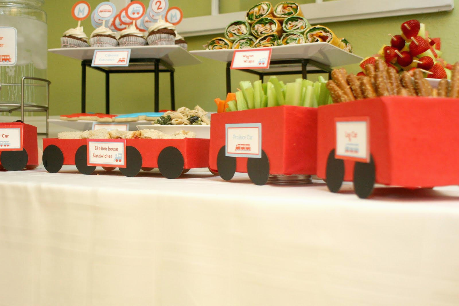 Train Decorations for Birthday Party Best Ideas for A Train Birthday Party Home Party Ideas