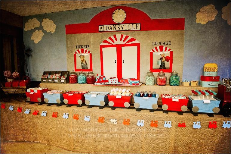Train Decorations for Birthday Party Kara 39 S Party Ideas Vintage Train Station Birthday Party